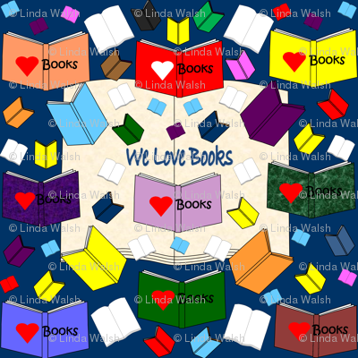 """We Love Books"" and ""Hawk Family Books"" Products"