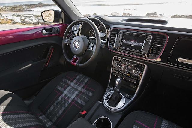 Mobil Volkswagen PinkBeetle