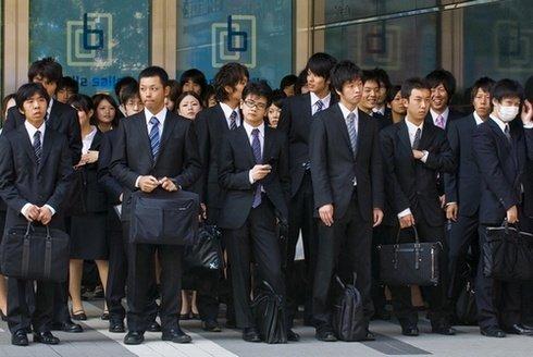 Kehidupan Kerja Orang Jepang
