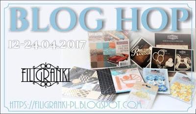 Blog Hop u Filigranek <br>24 kwietnia
