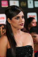 Glamorous Actress Neetu Chandra in Black dress at IIFA Utsavam Awards 2017  HD Exclusive Pics 06.JPG