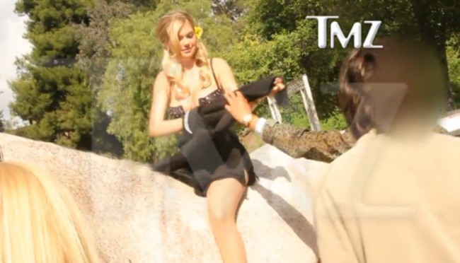 Kate upton naked on a horse