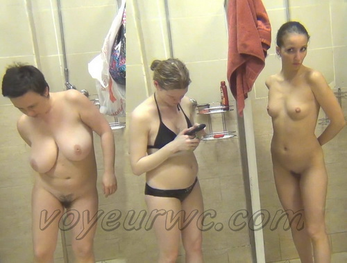 Swimming Pool Shower 97-105 (Hidden Camera in a Swimming Pool Shower)