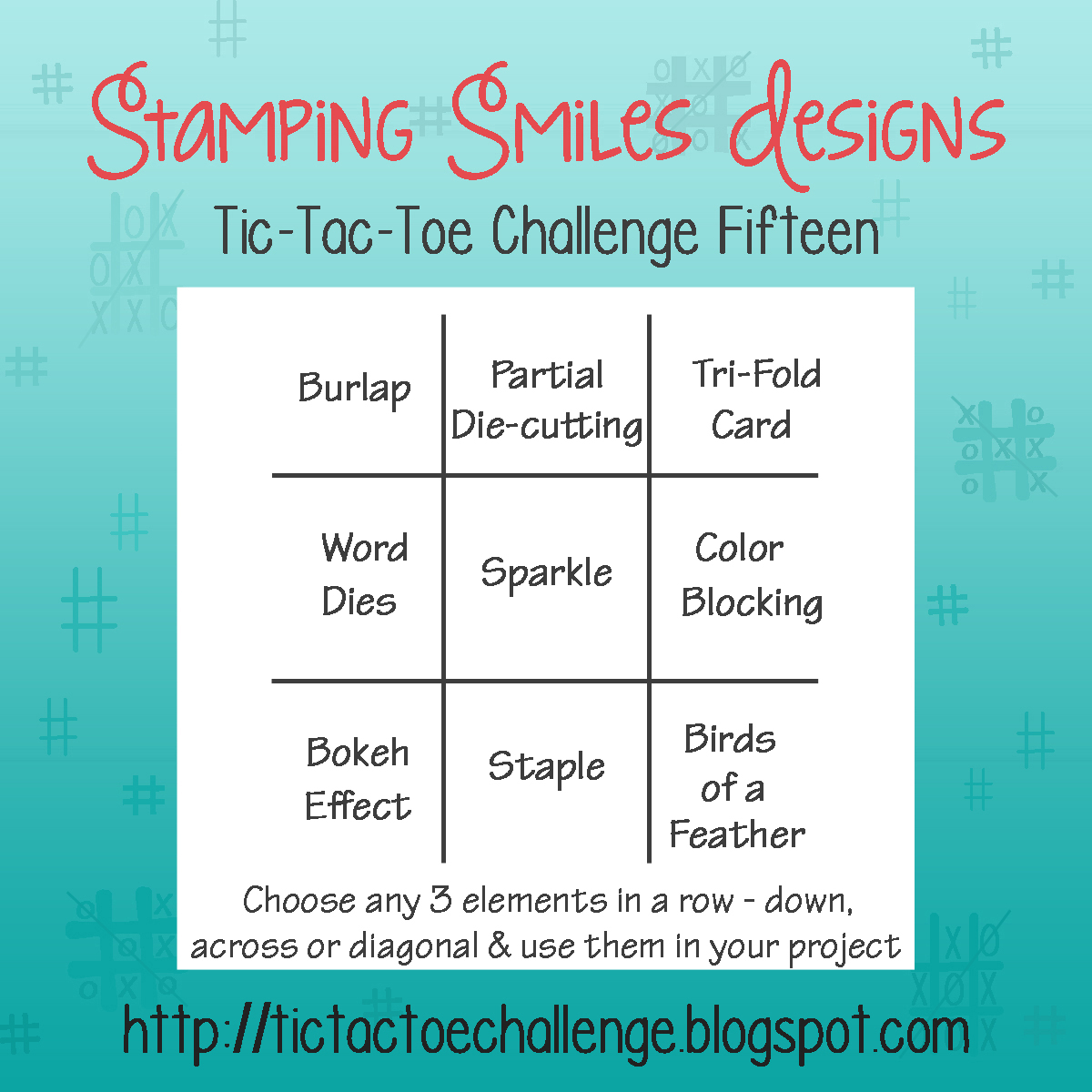 Tic Tac Toe Challenge Challenge 15 Inspiration With Rachel