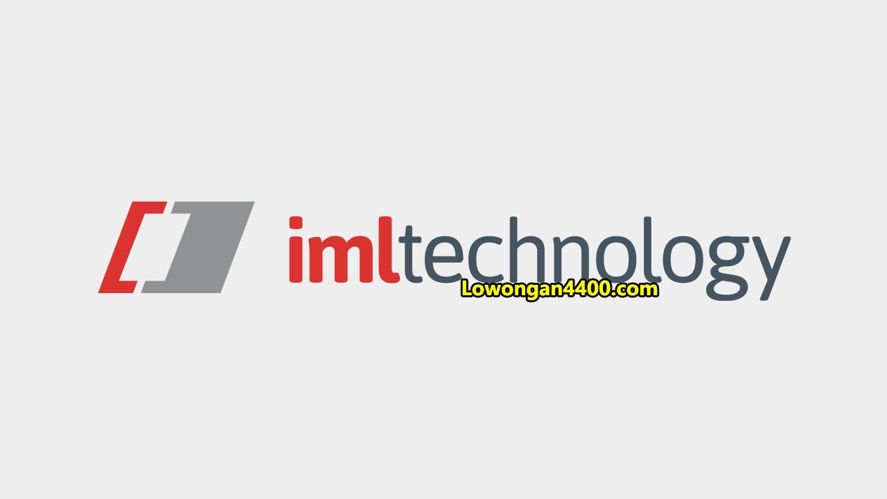 Lowongan Kerja PT IML Technology