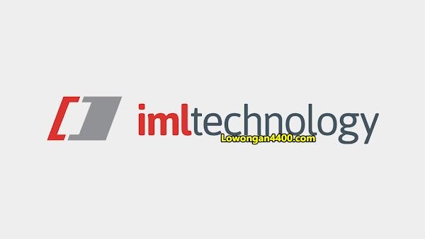 Lowongan Terbaru PT IML Technology Cibitung