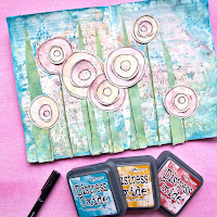 Click to see a Step by Step Distress Oxide Art Journal Video