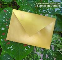 Sobres en colores kraft para tarjeta-invitaciones de boda en guatemala