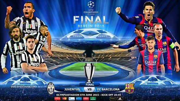 The Previous Of The Final Of The Champions League Juventus Vs Fc Barcelona