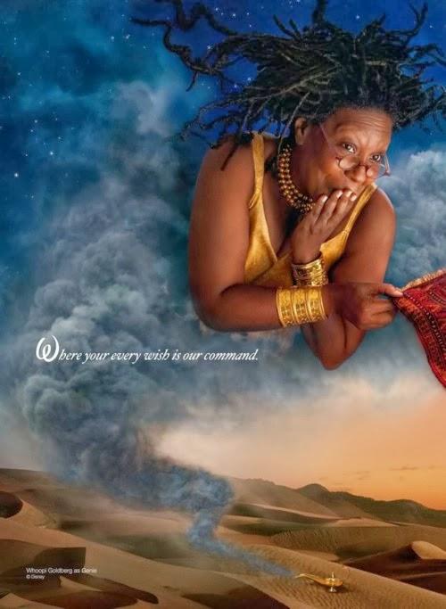 Whoopi Goldberg Aladdin Genie animatedfilmreviews.filminspector.com