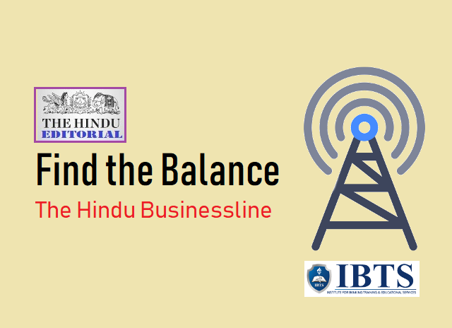 Find the Balance: The Hindu Editorial