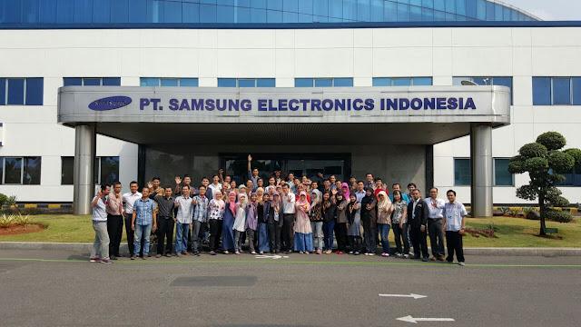 Bekerja di Samsung