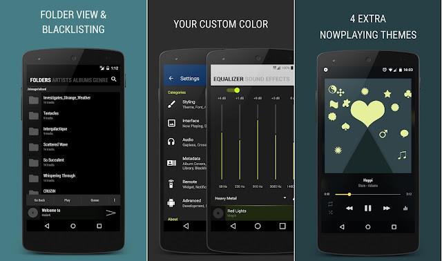 Screenshot BlackPlayer EX Premium Music Player