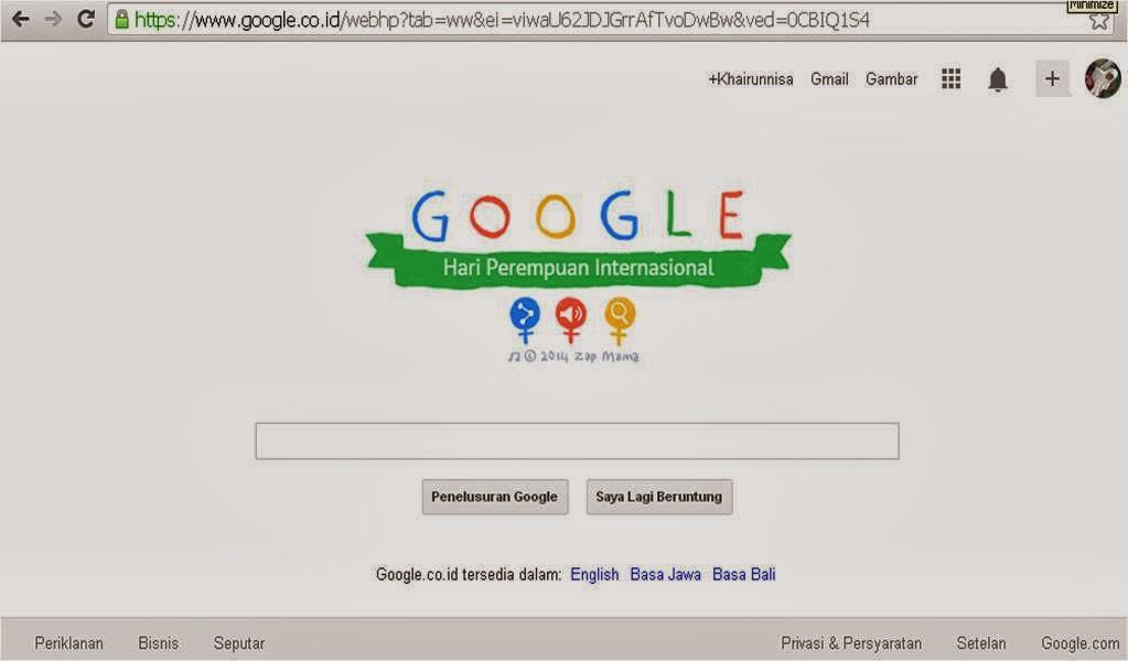 Doodle dan Hari Perempuan Internasional