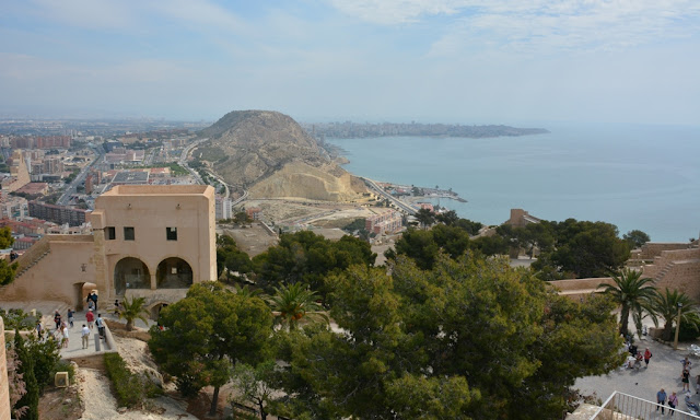 Castle Santa Barbara Alicante