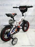 5 Sepeda Anak United Tractor Rangka Aloi 12 Inci