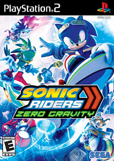 Sonic Riders: Zero Gravity (PS2) 2008