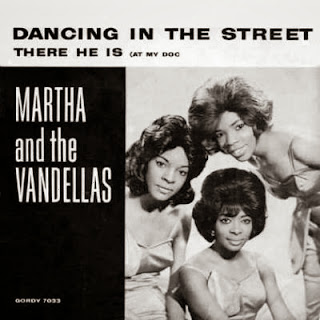 Dancing in the streets. Martha Reeves and The Vandellas