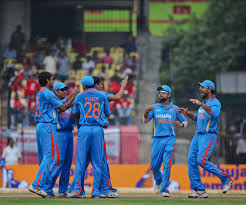 India won the series against New Zealand.