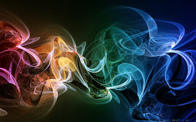 smoke swirls wallpaper