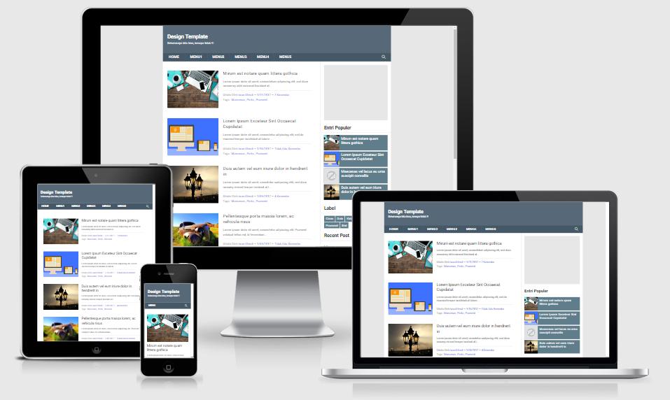 Pemula Fast Free Responsive Blogger Template