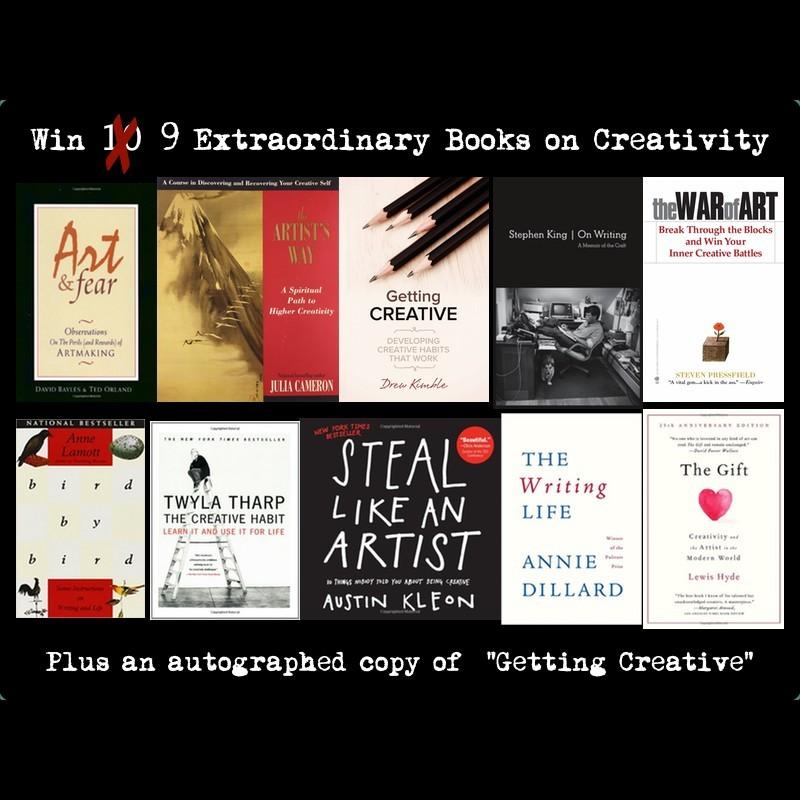 9 Extrodinary Books On Creativity