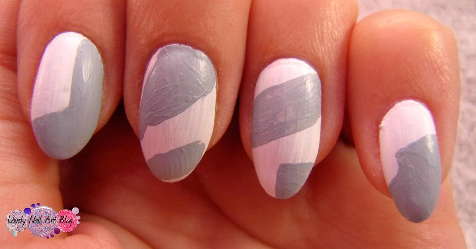 Lovely Nail Art: Abstract nail design - step by step!