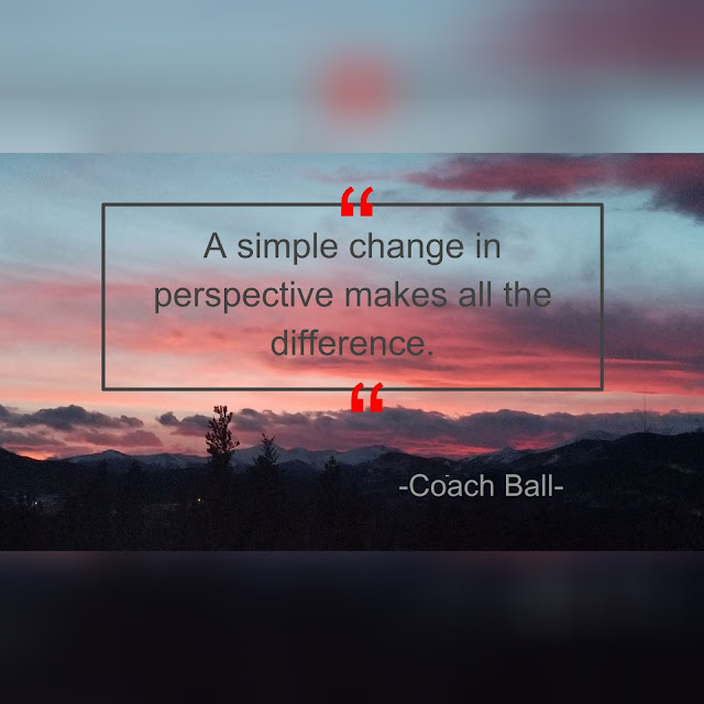 Leaders lead through times of adversity with the proper perspective. Keep a positive attitude about your day or situation and it will be much easier to keep your train on the right track. Perspective and a Positive Attitude Craig Ball Spinwit