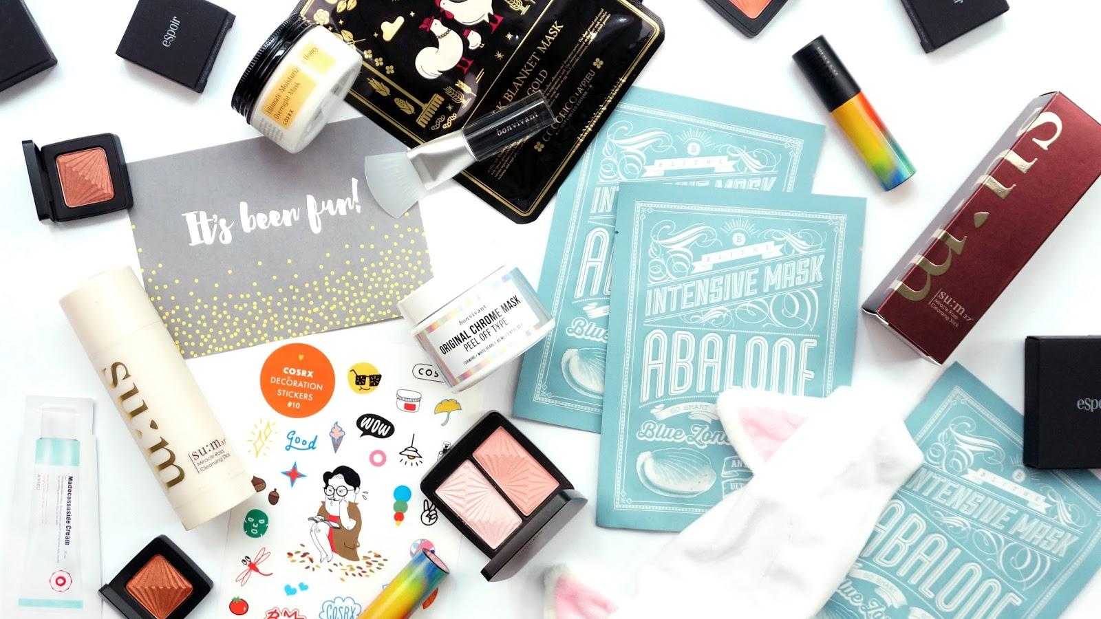 Korean Beauty Skincare Haul With Shopandbox And Giveaway Thehanihanii