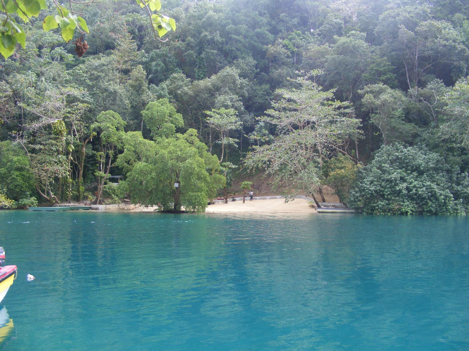 Blue Lagoon Restoration Jamaica Artificial Beach At Blue