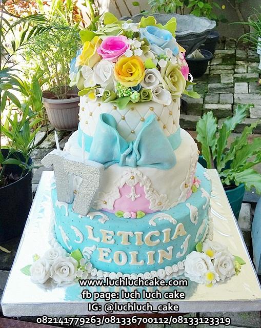Kue Tart Ulang Tahun Sweet Seventeen