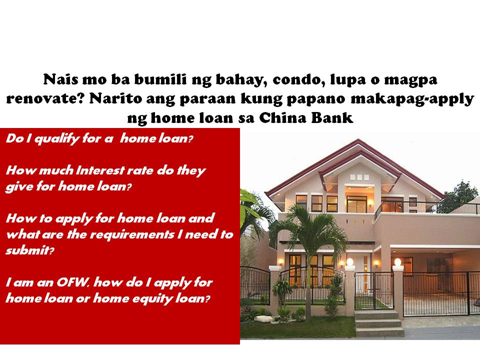what do you need to qualify for a home equity loan