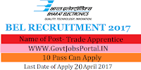 Bharat Heavy Electricals Limited Recruitment 2017– 770 Trade ApprenticeBharat Heavy Electricals Limited Recruitment 2017– 770 Trade Apprentice
