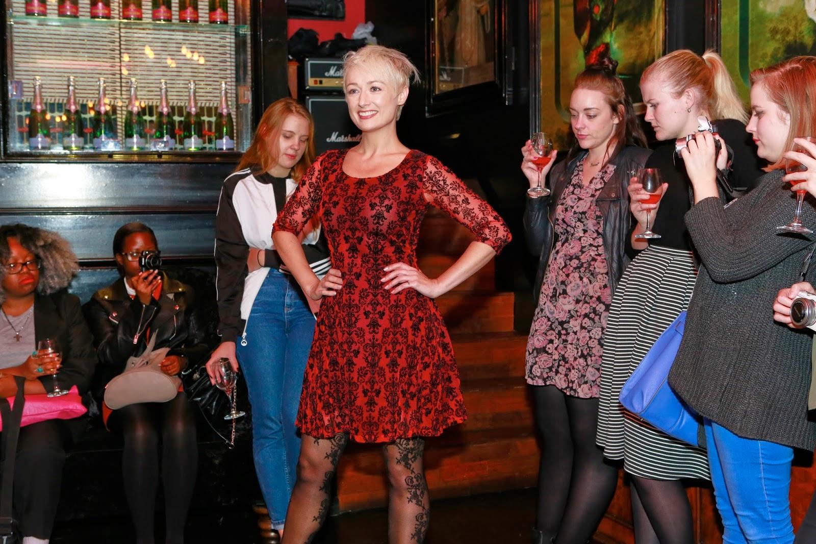 Georgie Minter-Brown blogger actress blog Joe Browns Bloggers Funfair event