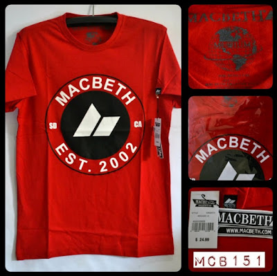 Kaos Distro Surfing Skate MACBETH Premium Kode MCB151