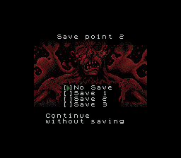 Resident Evil Gaiden Gameboy Screenshot