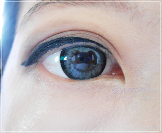 Geo Medical Angel Circle Lens in Grey