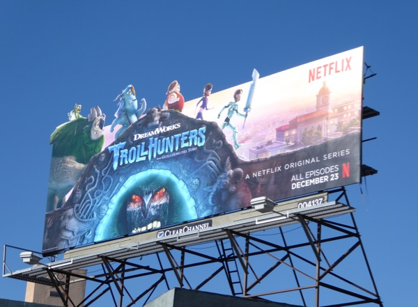 Trollhunters season 1 special extension billboard