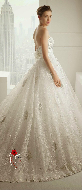 1a5f9393ede71 مجموعة فساتين الزفاف من روزا كلارا 2015