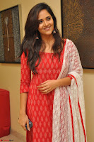 Anasuya Bharadwaj in Red at Kalamandir Foundation 7th anniversary Celebrations ~  Actress Galleries 009.JPG
