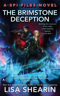 The Brimstone Deception, Lisa Shearin, UF, mystery, Bea's Book Nook