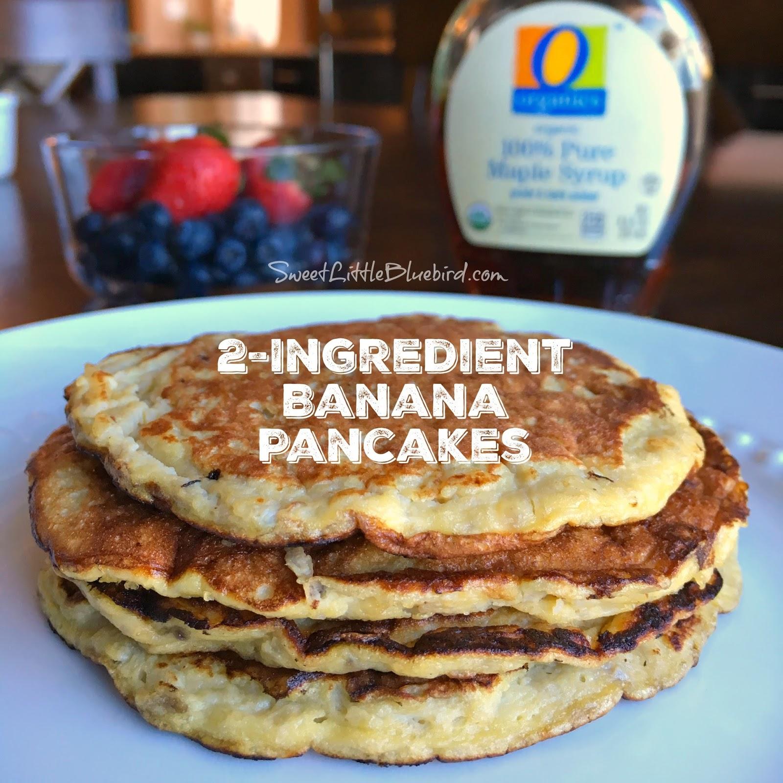 2 ingredient banana pancakes archives sweet little bluebird 2 ingredient banana pancakes ccuart Gallery