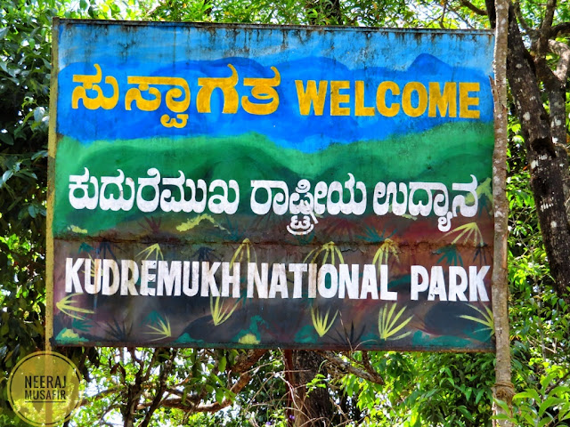 Kudremukh National Park Entry Fees