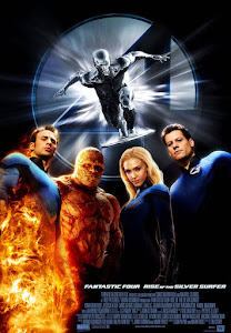 4: Rise of the Silver Surfer Poster