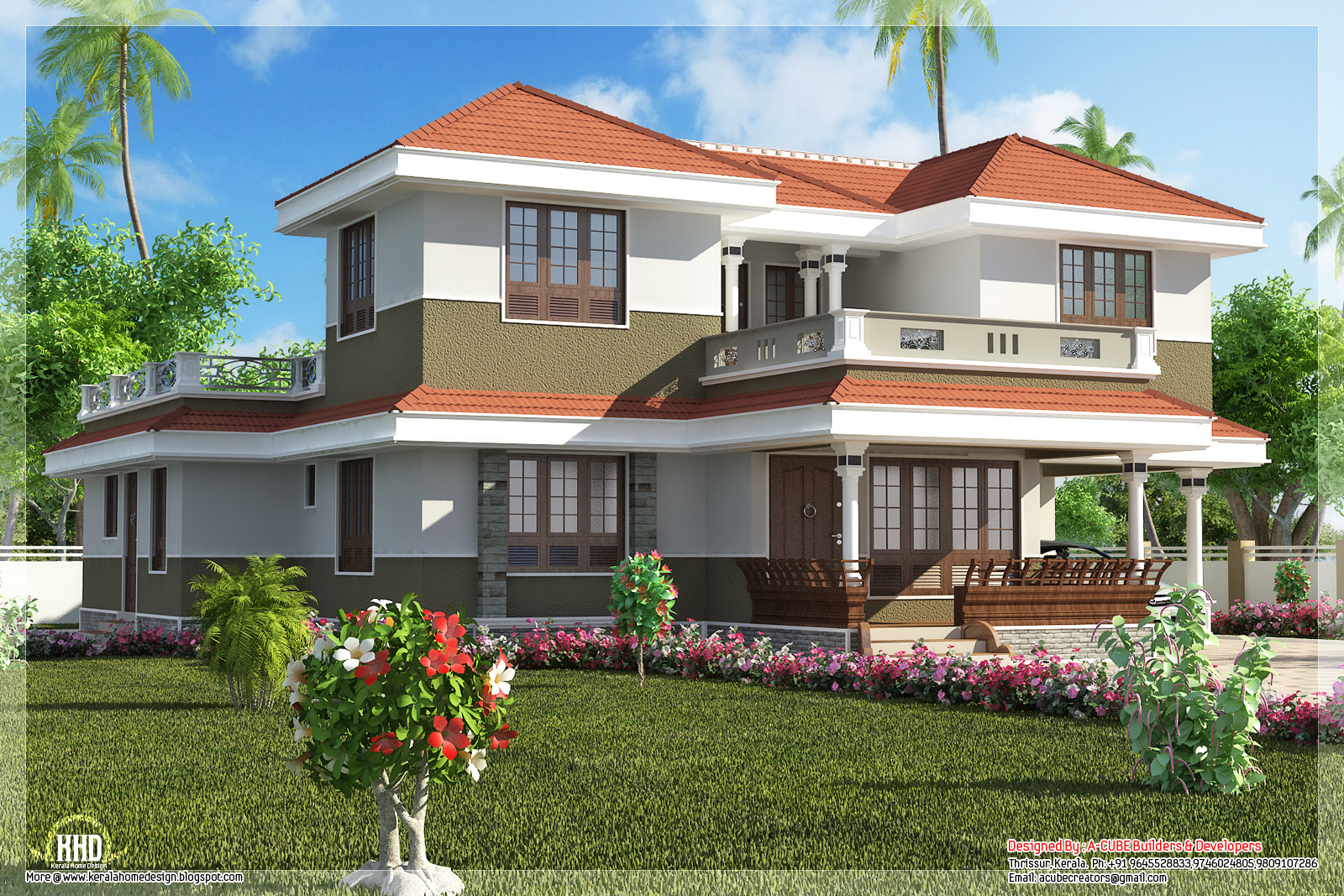 Home appliance for Kerala style villa plans