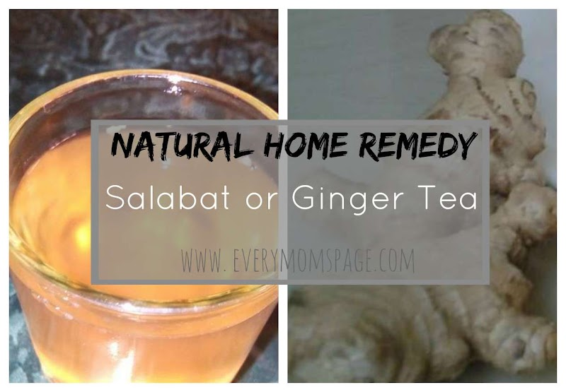 Natural Home Remedy: Salabat or Ginger Tea Recipe