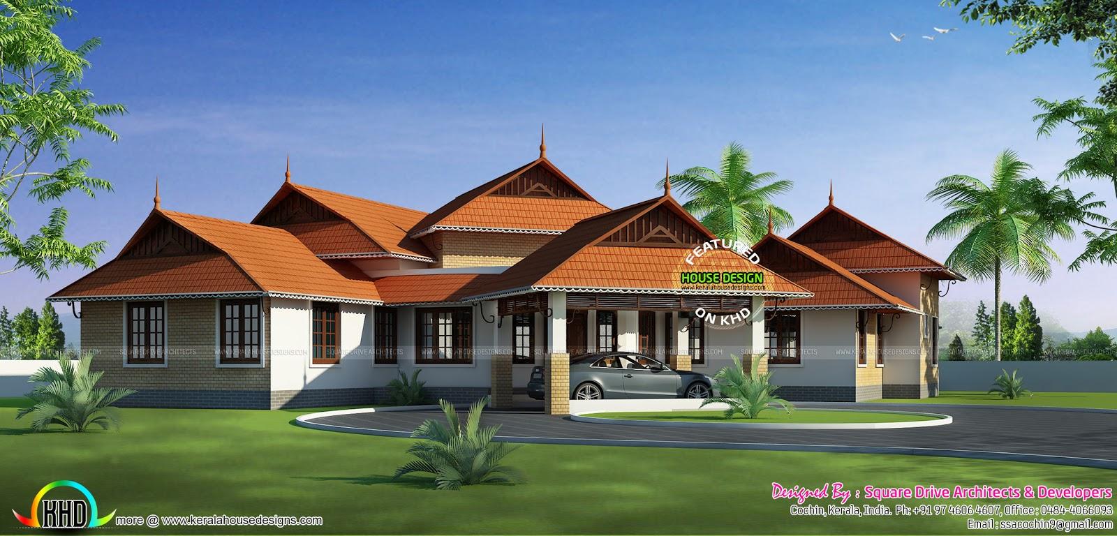 Kerala style home design 2016 kerala home design and for Kerala home designs 2016