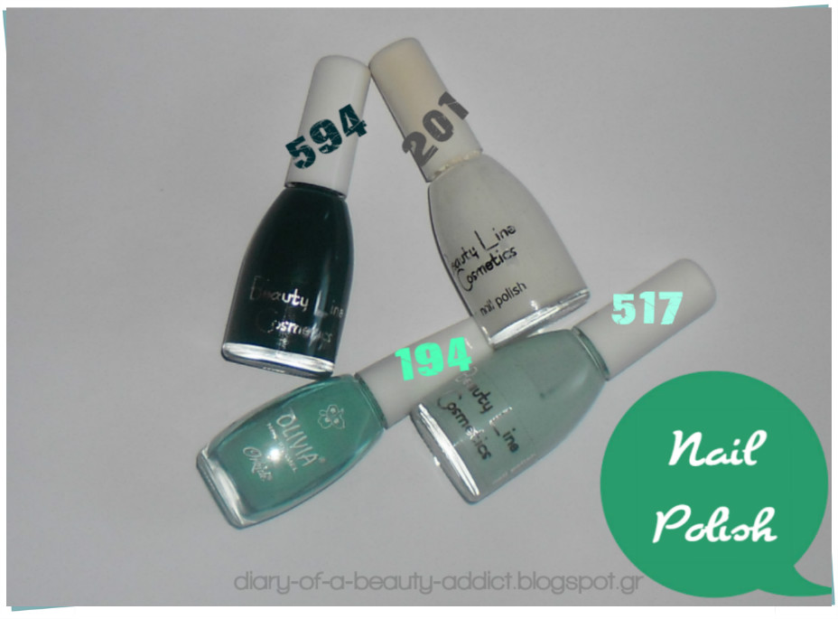 green nail polishes