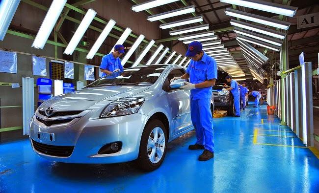 Ưu đãi cho dự án sản xuất ô tô trên 50.000 chiếc/năm