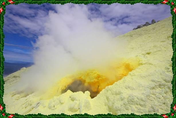 Núi lửa Sinabung, Indonesia: